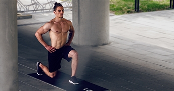 The secret of side lunges and lunges