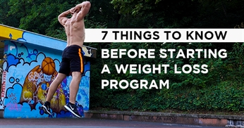 7 Things to know before starting a weight loss program